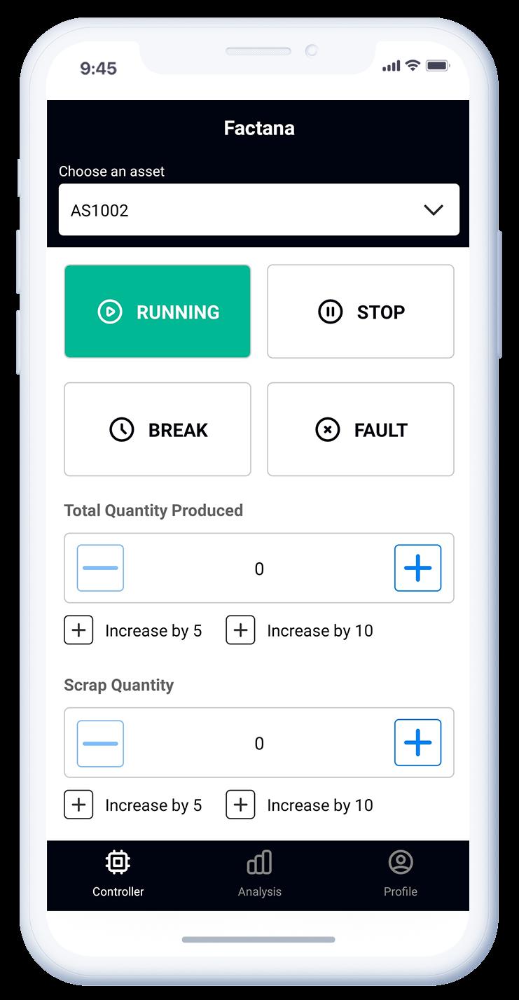 SFactrix App Controller Page
