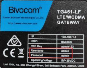 Bivocom tg451