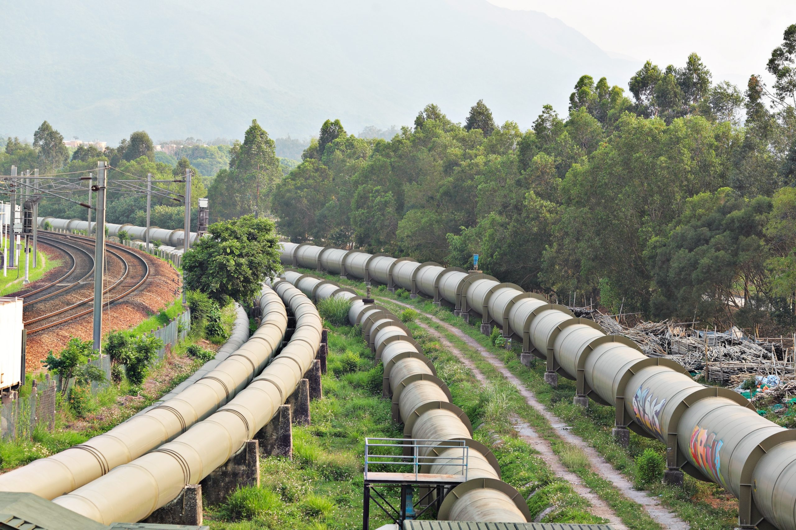 oil and gas distribution pipeline leakage detection