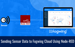 Sending sensor data to Fogwing Cloud using Node-RED